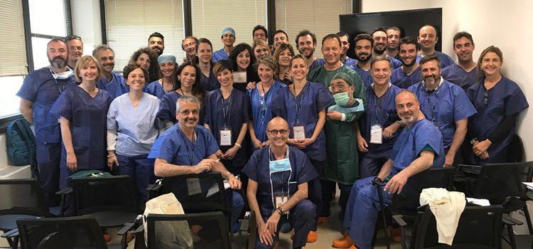 Corso di dissezione e tecniche chirurgiche su cadavere.